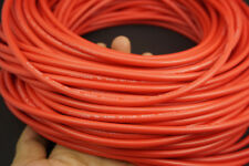 10Ft. 40KV DC 22AWG High Voltage Red Wire Cable Rubber - Telsa Laser Neon