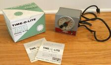 Time-O-Light Model S-59 Signaling Photographic Timer Box Industrial Tested Works