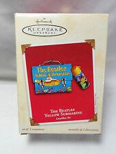 2002 HALLMARK The Beatles Yellow Submarine Lunchbox Set Box NG