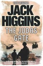 JACK HIGGINS __  THE JUDAS GATE  __ BRAND NEW __ FREEPOST UK
