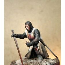 Art Girona Knight Templar Crusader 54mm Model Unpainted Kit LATORRE