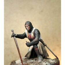 Art Girona Knight Templar Crusader 54mm Modelo Sin Pintar Kit Latorre