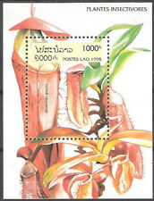 Laos 1995 Insect Eating Plants Souvenir Sheet MNH (SC# 1242)