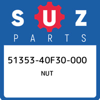 51353-40F30-000 Suzuki Nut 5135340F30000, New Genuine OEM Part