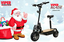 Electric Scooter 2000W 60V Viper Blade Sports New 2020 Model, Christmas Sale