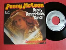 "PENNY McLEAN : dance, Bunny Honey, dance / Summernight stomp 7"" EURODISC 911131"