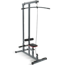 Multi-Function Pro Lat Pulldown Machine with Low Row Bar Cable Fitness Equipment