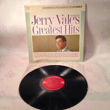 Vintage record album Jerry Vale's Greatest Hits  ~ CB-8778