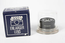Jessop quality 50 mm, f3.5 enlarger lens boxed with keeper