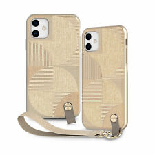 "Moshi Altra Case With Detachable Wrist Strap for iPhone 11 6.1"" Sahara Beige"