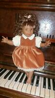 """❤Character Vintage charming Doll . Out Tongue Freckle Vinyl 16 """"  Free shipping"""