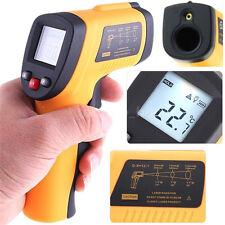 Fashion Non-Contact LCD IR Laser Infrared Digital Temperature Thermometer Gun HI