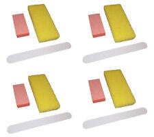 12pc Nail File Buffer Pumice Disposable Nail Care Kit Manicure & Pedicure Kit B