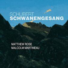Schubert / Rose / Martineau - Schwanengesang [New CD] Jewel Case Packaging