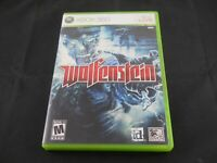 Wolfenstein (Microsoft Xbox 360, 2009) No Manual Tested