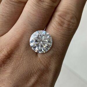 Round Cut Simulated Loose Round Cut Diamond D/VVS1 5MM White Gemstone* #2