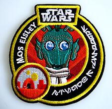 Star Wars - Mos Eisley - Greedo - Uniform Aufnäher zum Aufbügeln - neu