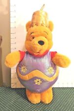 Christmas, Pooh Plush Toy, Disney,  Dressed As Christmas Ornament, Collectible