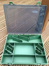Brand New Large Carp Fishing Tackle Box Storage System With Dividers