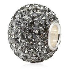 Massiccio ORIGINALE 925 argento cristallo Bead rimorchio catene (Diamond) + REGALO