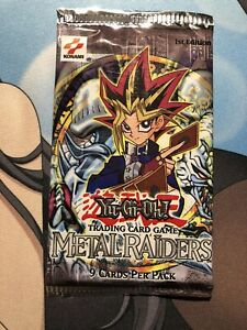 Yu-Gi-Oh Metal Raiders 1st Edition Booster Pack 1 Sealed
