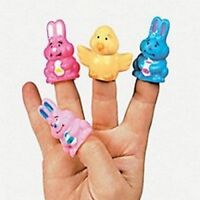 Pack of 12 - Easter Theme Finger Puppets - Great Stocking Party Loot Bag Fillers