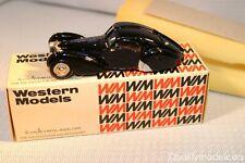 Western models WMS 7 Bugatti Type 57SC Atlantic mint in box all original