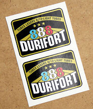 DURIFORT '888' TUBE LEGERS Cycle Bike Frame Decals Stickers metallic ink