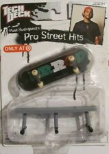 Tech Deck Pro Street Hits  Paul Rodriguez   NRFB  VHTF  fingerboard and obstacle
