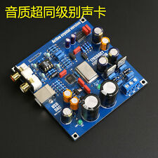 HIFI PCM2706 + PCM1793 + AD827 USB DAC Sound Card For Audio HIFI DIY Kits