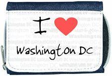 I Love Corazón Washington Dc Denim Cartera