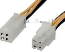 ATX 4 polig Stecker Buchse Anschluß Strom-Verlängerung-s Kabel 12V EPS P4
