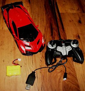 Kingco Autobot Transforming RC Car Lights Sound Dance 1:22 Orange 2333X