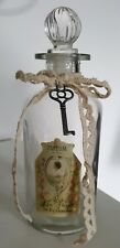 Stunning vintage looking glass perfume bottle New