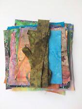 Batik Fabric Scrap Bag