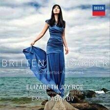 Britten, Barber: Piano Concertos; Nocturnes (CD)