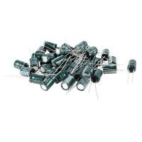 40 Pcs 1000uF 6.3V 105℃ Radial Electrolytic Capacitors Dark green 8x12mm FP