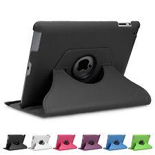 360° drehbar Hülle iPad 2 3 4 Schutz Cover Case Tasche Etui Ständer Folie
