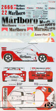 1/24 McLAREN F1-GTR MARLBOLO BPR GT ZHUHAI #2 #6 DECAL for FUJIMI SHORT TAIL