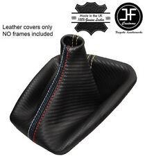 Puntada de arena de fibra de carbono mirada Gear Polaina se Ajusta BMW E36 E46 91-05 M // Puntada