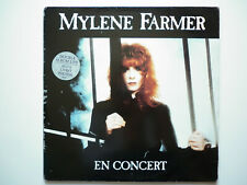 Mylene Farmer Album double 33Tours vinyles En Concert