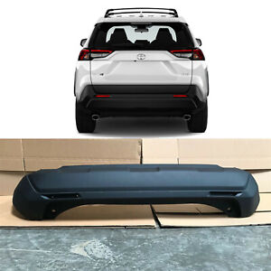 Rear Bumper Cover Replacement for 2019 2020 Toyota Rav4 Brand New Primered Black