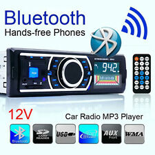 Car MP3 Player Stereo Audio In-Dash FM Aux Input SD USB Bluetooth Car Radio LCD
