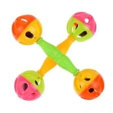 Baby Kids Toy Rattle Bells Shaking Dumbells Early Childhood Educational Toys