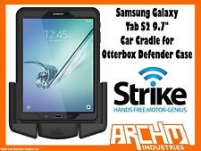 "STRIKE ALPHA SAMSUNG GALAXY TAB S2 9.7"" CAR CRADLE FOR OTTERBOX DEFENDER CASE"