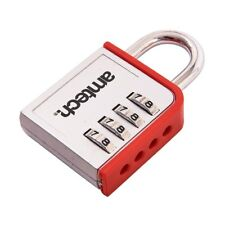 Combination Padlock 4 Digit Zinc Home Door Locker Toolbox Lock Office Security