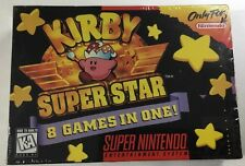 Kirby Super Star (Super Nintendo 1996) Snes BRAND NEW FACTORY SEALED