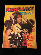 VINTAGE W.A.S.P. KERRANG! MAGAZINE-BLACKIE LAWLESS-RAMONES-ROCK IN RIO