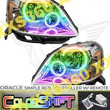 ORACLE Halo HEADLIGHTS for Ford Five Hundred 500 05-07 COLORSHIFT Simple RGB