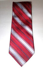 "Daniel Cremieux 100% Silk Multi-Color Tie 62"" x 3 3/4"" Mostly Red"